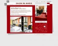 Bild Webseite Salon da Mario Karlsruhe
