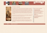 Website Friseursalon Haarscharf Augsburg