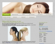 Website Sabine for Hair Friseur
