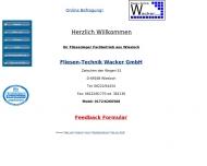 Bild Fliesen-Technik Wacker GmbH Fliesen und Fliesenverlegung/ Silikonabdichtungen