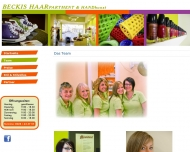 Website Becki's Haarpartment Inh. Köhn Friseur