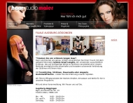 Website Haarstudio Maier