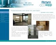 Website Fliesen Kopp