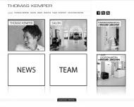 Bild Webseite Kemper Thomas Friseure München