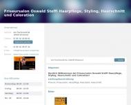 Bild Friseursalon Oswald Steffi Haarpflege, Styling, Haarschnitt und Coloration