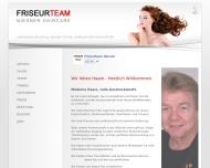 Bild Webseite Niesner Friseurteam München