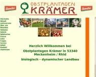Obstplantagen Kr?mer - Demeter - Hof und Naturkost in 53340 Meckenheim