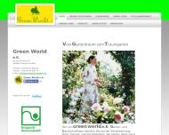 Bild Webseite Green-World Frankfurt