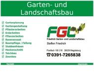 Bild Webseite Friedrich Steffen Garten- u. Landschaftsbau Magdeburg