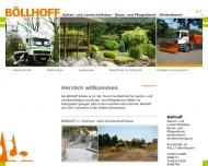 Bild Böllhoff GmbH & Co.KG Garten- und Landschaftsbau