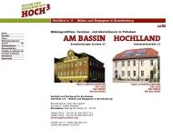 Website Seminarhaus und Gästehaus HOchLLAND und AM BASSIN ...