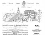 Bild Webseite Weißenbeck Hans Gaststätte Bergkirchen