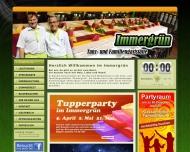 Bild Webseite Gaststätte Restaurant - Immergrün Dresden