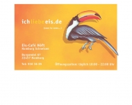 Bild Webseite Eis-Café Höft Hamburg