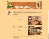 Bild Webseite Gaststätte Restaurant - Trobischhof Dresden