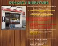 Bild Webseite Dingers Bierstube Gastronomie Dresden