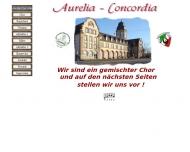 Bild Webseite Gaststätte Restaurant - Concordia Mannheim