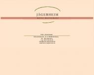 Bild Webseite Jägerheim Hotel und Restaurant Nürnberg