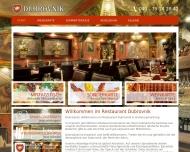 Bild Webseite Restaurant Dubrovnik Hamburg