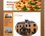 Bild Webseite Ristorante Roma Flensburg