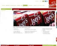 Bild Webseite Joey's Pizza Flensburg Flensburg