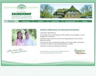 Bild Webseite Eichenhof Restaurant Hamburg