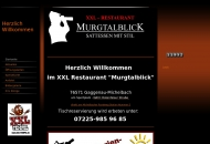 Website XXL Restaurant Murgtalblick