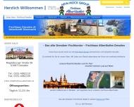 Bild Webseite Gaststätte Restaurant - Fischhaus Alberthafen Dresden