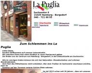Bild Webseite LA PUGLIA italienisches-Restaurant Hamburg