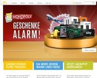 Bild Webseite McDonald's Dresden