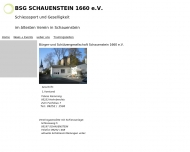 Bild Webseite  Schauenstein