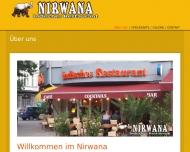 Bild Webseite Restaurant Nirvana Berlin