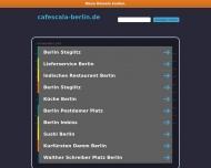 Bild Webseite Scala Café Berlin