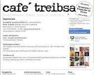 Website Gaststätte Restaurant - Treibsand