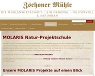 Bild Webseite Gaststätte Restaurant - Zschoner Mühle Dresden