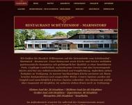 Bild Webseite Schützenhof Marmstorf Hamburg
