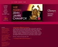 Bild Webseite Champor München