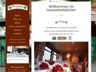 Bild Webseite Wirtschaft Leisewitzstübchen Gaststätte Hannover
