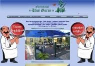 Website Gartengaststätte Uns Goren