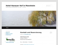 Bild Webseite Gaststätte Restaurant - Hanauer Hof Mannheim