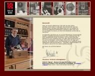 Bild Webseite Gallo Nero Restaurationsbetriebsgesellschaft Hamburg