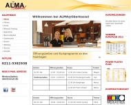 Website ALMA @Oberkassel Freizeitcenter