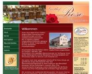 Bild Webseite Rose Ferienwohnungen Fremdenzimmer Langenaltheim