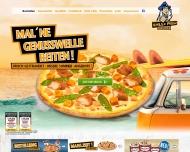 Bild Webseite Hallo Pizza Düsseldorf