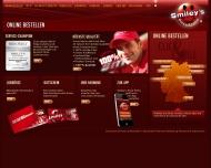 Bild Webseite Smiley's Barmbek/Bramfeld Hamburg