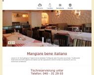 Bild Webseite Remo's Trattoria Hamburg