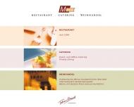 Bild Webseite Mess Restaurant Bar Hamburg