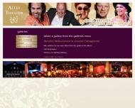 Website Altes Theater Hotel- und Gaststättenbetrieb