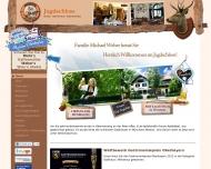 Bild Webseite Jagdschloß Michael Weber München