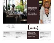 Bild Webseite Köpke Hamburg